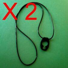 Black Neck Strap for Jawbone Icon Era Motorola Jabra 925 975 M1100 Bluetooth