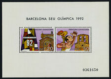 Andorra Sp 180 MNH Summer Olympics, Barcelona