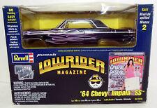 Revell Lowrider Magazine 1964 Chevy Impala Ss Kit Sealed