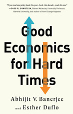 💡 Good Economics for Hard Times by Abhijit Vinayak Banerjee [P.D.F.]