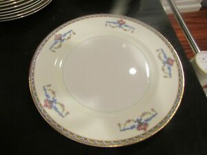 2~VERY NICE POPE GOSSER~9 1/8 INCH LUNCHEON PLATE (S)~MELROSE