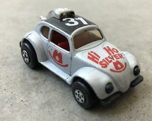 1971 Lesney Matchbox 15 Hi Ho Silver VW Bug Nice!