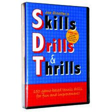 Joe Dinoffer's Skills Drills & Thrills Tennis Dvd (2-Disk 00006000  Set)