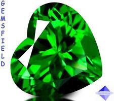 IF - 13.86cts !!! CHRYSOLITE Rép.Tchèque - Superbe coeur lumineux vert - AAA++