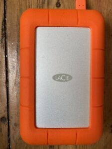 LACIE RUGGED Mini 5TB Mobile External Hard Drive USB3.0 USB C 3.0 thunderbolt