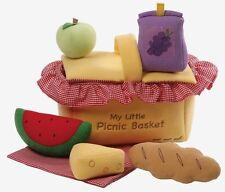 GUND My Little Picnic Basket Large Play Set Plush Soft Toy (4053938) NEW