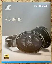 NEW Sennheiser headphones HD 660S, L@@k!