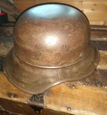 100% Original WW2 German 3 piece Luftschutz helmet S/D