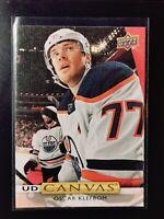 Oscar Klefbom - 19-20 UD Series 2 Hockey Canvas C205