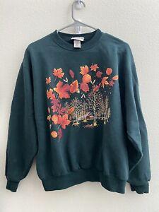 Morning Sun Sweatshirt Womens Size Medium Fall/Autumn