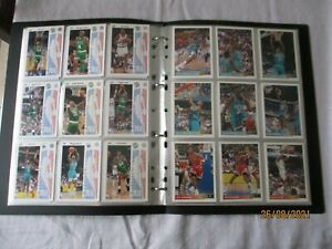 SET COMPLET 255 Cartes dans classeur Basketball NBA Upper Deck 92/93
