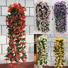 1 Bunch Lily Bracket Plant Hanging Garland Flowers Vine Home Wedding Xmas NEW