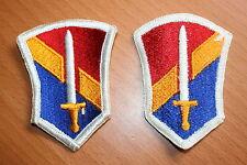 ORIGINAL US MADE 2ND FIELD FORCE VIETNAM CLOTH SHOULDER PATCH BADGE