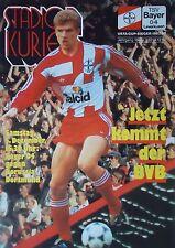Programm 1992/93 Bayer 04 Leverkusen - Borussia Dortmund