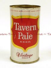 1950s Chicago TAVERN PALE DRY BEER 12oz Flat Top Tavern Trove