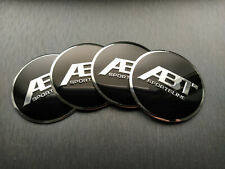 4x 56mm ABT Sticker Stickers Decal Badge For Center Caps Hub Cap Wheel Rim Car