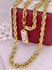 GoldNMore: 18K Gold Necklace Chain 24 inches 35.4G