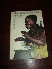 Aufstand in den wilden Bergen,Richter,1978,8.Auflg.,DDR-Kinderbuch,Bilder s.Text
