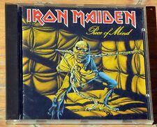 CD Iron Maiden - Piece of mind 1983 Holland
