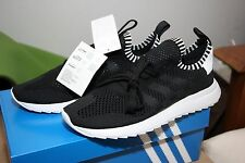 WOMENS ADIDAS FLASHBACK BLACK SNEAKERS SHOES NIB 8 US or 6.5 UK IMPORT