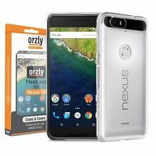 Orzly® FlexiCase for HUAWEI NEXUS 6P SmartPhone (2015 Model) 100% TRANSPARENT