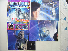 Doctor Who Monster Invasion Part 3 with 3 Posters