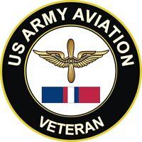 "Army Aviation Kosovo Veteran 5.5"" Decal / Sticker"