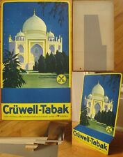 Tobacco Advertising Advertising Sign, w/Mosque/Mecca - 1950 German/Germany
