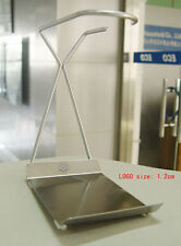 NewlineNY Stainless Steel Towel, Spoon & Brush Rest