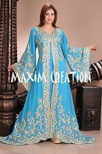 DUBAI VERY FANCY KAFTANS abaya jalabiya Ladies Maxi Dress New Wedding gown 4457