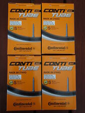 Continental Race 28 Road Bike Tubes 700C 19/25mm 60mm Valve 4 Pack Tubes *New*