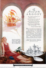 Gustaf Tenggren Argosy Flatware 1847 Rogers Bros INTERNATIONAL SILVER 1926 Ad