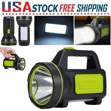 USB Rechargeable Flashlight Super Bright Searchlight Handheld Spotlight Camping