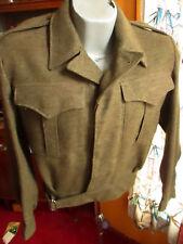 Vtg Battle Dress Blouse Sze 5 1955 SURPLUS NEW CANADIAN MILITARY JACKET