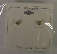 Jewelry Earrings Pierced Gold Tone Hypoallergenic Posts - Brand New