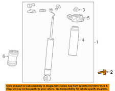 GM OEM Rear Suspension-Shock Bolt 11515776