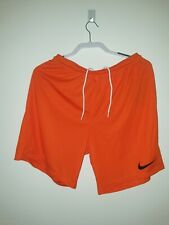 Mens Nike Homme Orange Running Shorts Size Large
