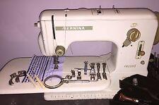 Bernina 530-2 record Single ou Double Aiguille Machine à coudre 60025326