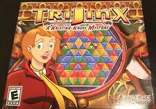 TriJinx PC Games Windows 10 8 7 XP Computer puzzle mystery gem match swap puzzle