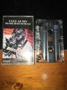 UGLY AS SIN THE GOOD THE BAD AND THE UGLY Cassette Tape