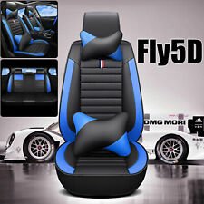 Fly5D Car SUV Seat Cover PU Leather Set Full Auto Cushions Universal Accessories