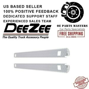 Dee Zee DZ11995 For Chevy Brite Tread Side Bed Wrap Caps with Stake Holes