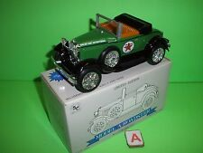 TEXACO FORD MODEL A CONVERTIBLE ROADSTER Stk #1537 SPEC CAST Liberty NEW 1:25 A