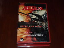 Alien From The Deep VHS 1980s Sci-Fi Horror CBL Home Video PAL
