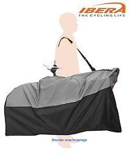 IB-BB1 IBERA Bicycle Transport/Travel Folding Bag, Shoulder Strap, Handle- Black