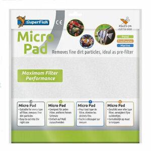 SuperFish Filter Foam / Wadding Micro Pad 45 x 25cm