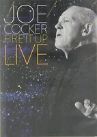 JOE COCKER - FIRE IT UP - LIVE  DVD NEUF