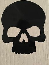 Halloween Skull Vinyl Decal Wall Window Sticker