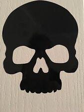Halloween Skull Vinyl Decal Wall Window Sticker