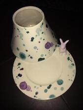 Yankee Candle  Splashes of Spring  Jar Shade & Tray Set  NWT
